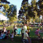 Plaza Coronel Fontana familia
